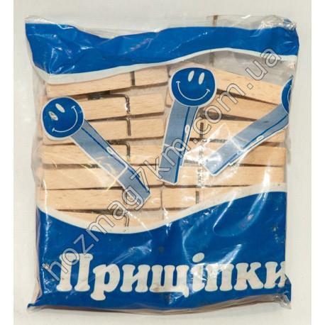 A207 Прищепка деревянная в упаковке ( 20 шт. )