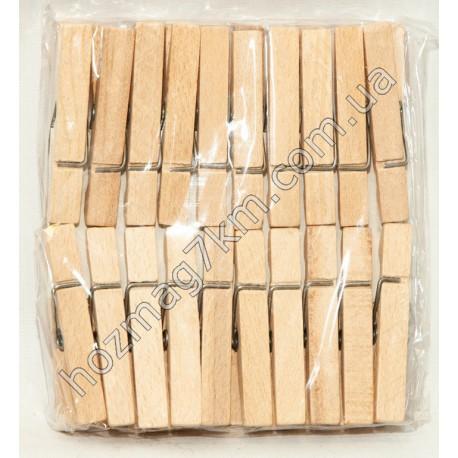 A208 Прищепка деревянная обычная ( 20 шт.)