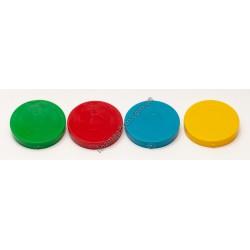 A249 Крышка пластмасовая маленькая ( цветная )