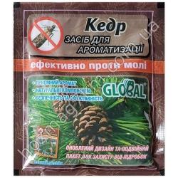 А 510 Таблетки от моли Global ( Кедр )