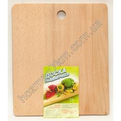 A524 Доска разделочная деревянная ( 26 х 35 см. )